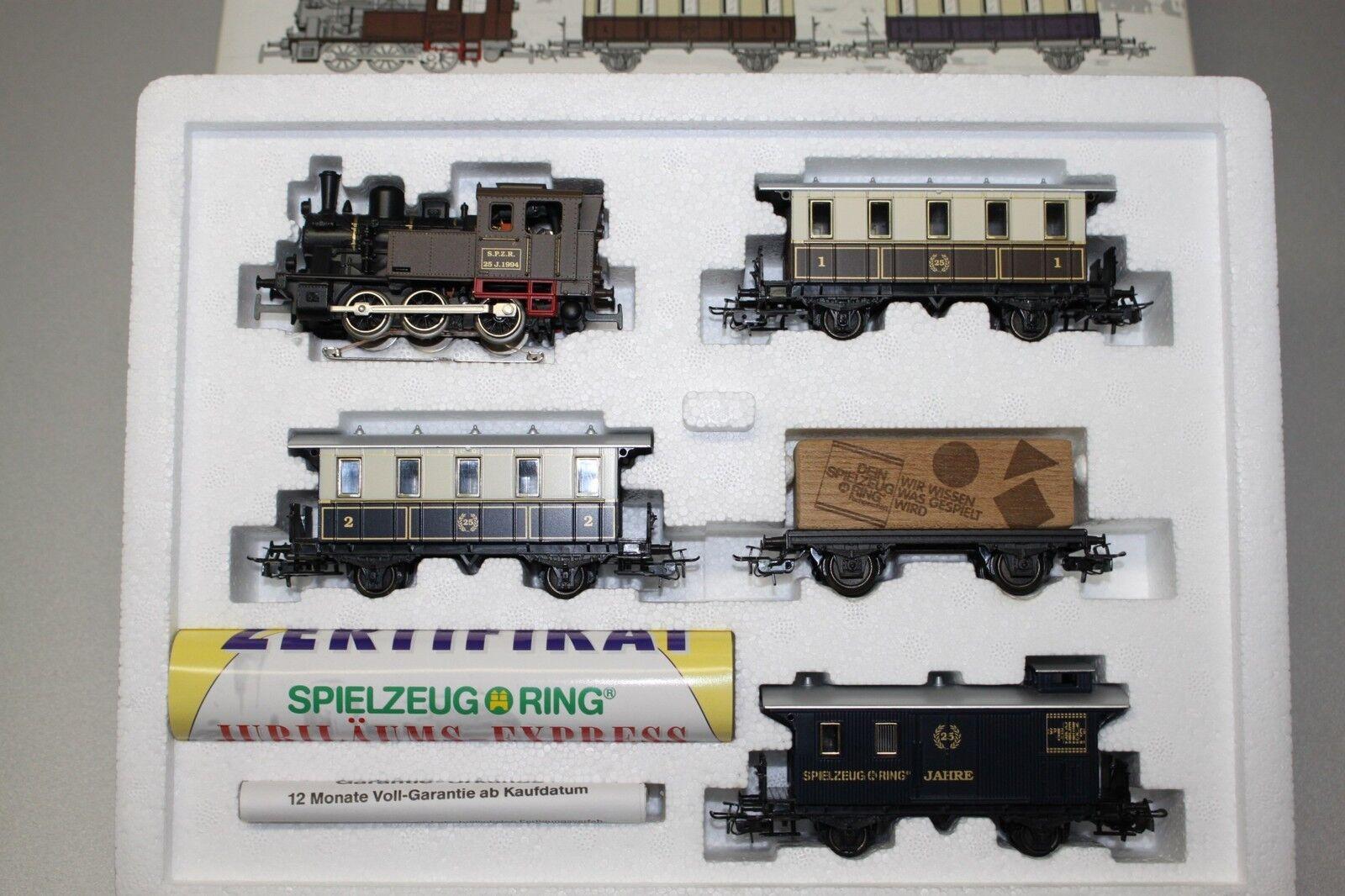 Märklin 2840 Zug-Set Spielzeugring mit Dampflok Spur H0 OVP