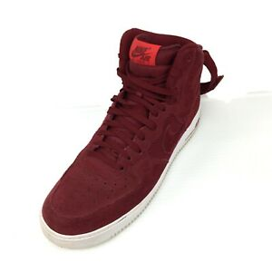 newest 95de5 a3d45 Image is loading NIKE-Air-Force-1-High-University-Red-White-