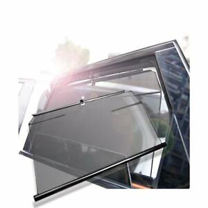 Details About 2p Car Rear Side Window Sunshade For Tesla Model3 Adjustable Telescopic Lifting
