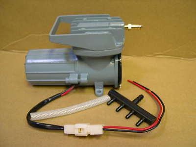 12V Batterie Belüfter 2280 l//h Sauerstoffpumpe für Fischzucht Fischhälterung