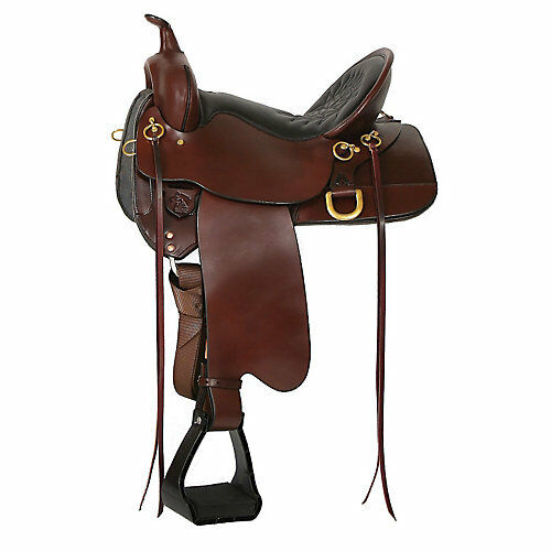 Circle Y High Horse Big Springs Saddle 16 Wide Tob
