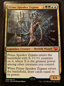 1X Prime Speaker Zegana Commander 2015 NM Mythic Rare CARD