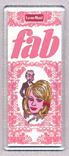 RETRO CLASSIC COOL FAB LOLLY LADY PENELOPE large fridge magnet