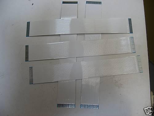 Lot de 5 Nappes Flex 20 Contacts au pas de 1mm, CMS