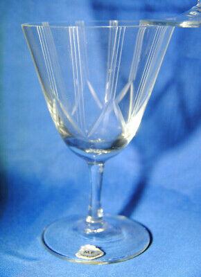 2019 Neuestes Design 6 X Weinglas / Sherryglas Hauchdünn * Schliff * Linienschliff * Ideales Geschenk FüR Alle Gelegenheiten