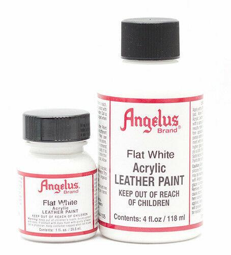 Angelus Flat White Acrylic Leather