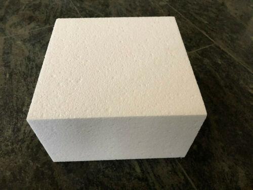 Polystyrène bloc pour bricolage//Décorer ou autres 22,5 x 22,5 cm Différentes Hauteurs Taille