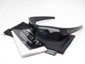71710a418bc Oakley Gascan 12-856 Matte Black w Black Iridium Polarized ...