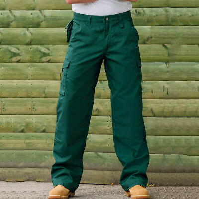 Russell Europe Heavy Duty Workwear Mens Trousers 60 Degree Wash 3 Leg Lengths