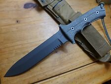 Chris Reeve Knives Green Beret 7 Inch Serrated Edge - S35VN - Authorized Dealer