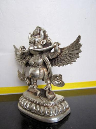 Tibetan nepal Buddhist bronze GARUDA statue bouddha statue