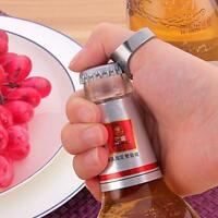 3pc Stainless Steel Finger Thumb Ring-Shape Beer Bottle Opener Bar Beer Tool