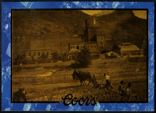 C389 1896 Brewery Photograph #57 Coors Beer Trade Card