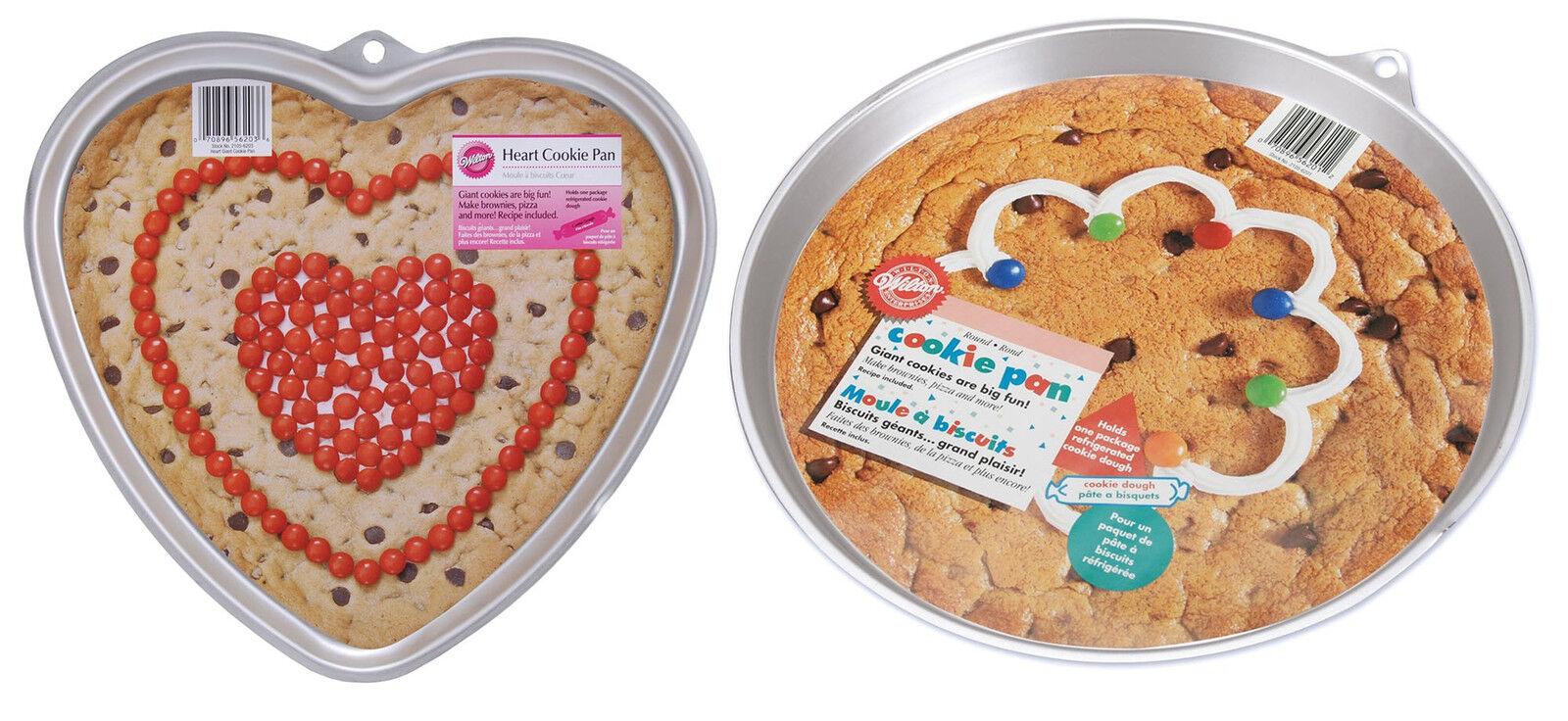 Wilton Giant Cookie Pans Ebay