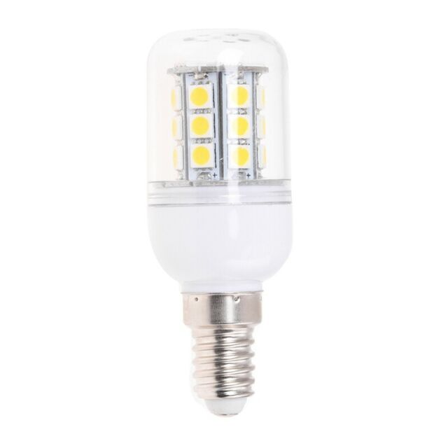 SODIAL (R) Leuchte Lampe Birne Licht E14 Warm Weiss 5W 27 SMD 5050 LED 220V A VG