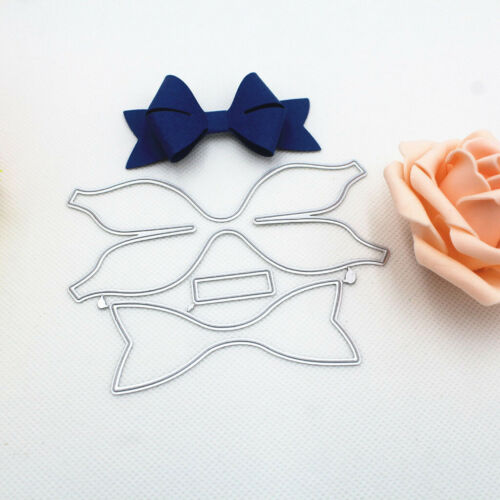 Stitching Bow-knot Frame Bow Metal Cutting Dies Stencils For DIY Scrapbooking