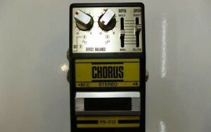 Used-Guyatone-PS-013-Chorus-Stereo-Vintage-Guitar-Effects-Pedal-Made-in-Japan