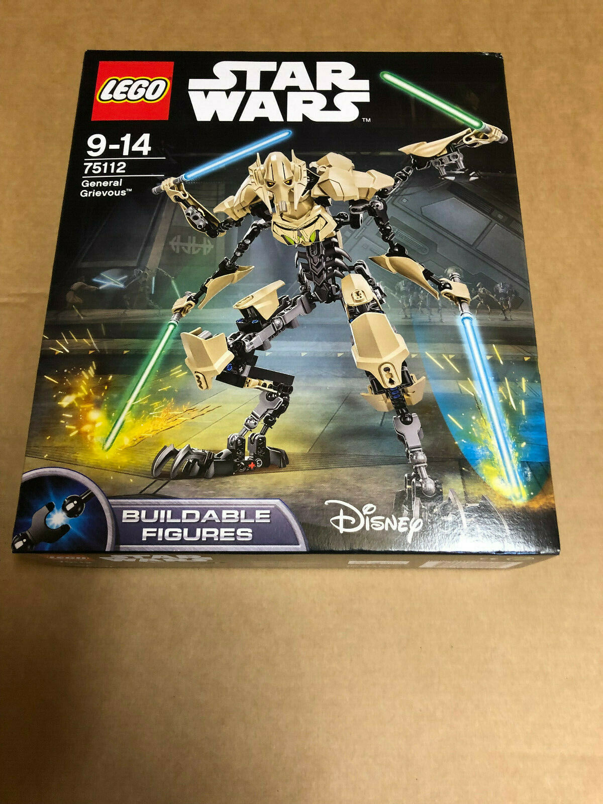 LEGO Star Wars General Grievous 75112  Neu in OVP