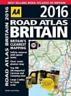 AA Road Atlas Britain: 2016 by AA Publishing (Spiral bound, 2015)