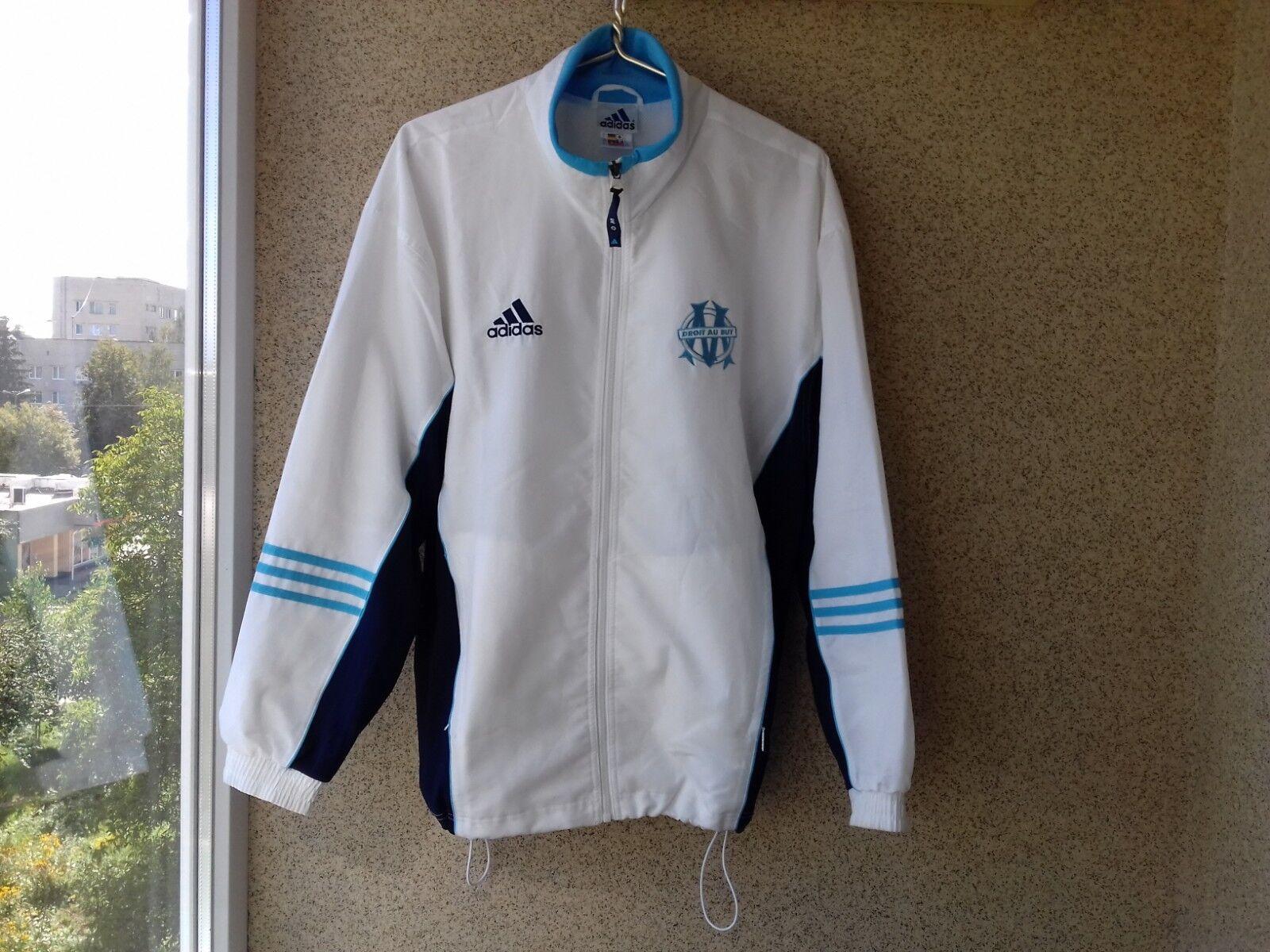 Olympique Marseille Chaqueta De Fútbol Adidas Fútbol Camiseta Antigua Francia 1999 2000