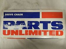 Parts Unlimited 520H Heavy Duty Economy Motorcycle Drive Chain P/N: T520H-100