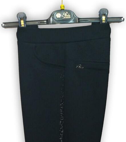 Pantalone donna invernale comodo bielastico made in Italy PERLA OVERSIZE Grazia