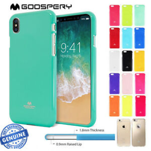 huge selection of 967b2 ca3b7 Details about For iPhone X 8 7 6s Plus SE Case Mercury Goospery Jelly Soft  TPU Silicone Cover