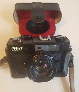 Revue 400 SE mit Revueon Objektiv 1,7 / 40 mm