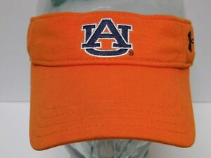 47400a8a Image is loading AUBURN-UNIVERSITY-TIGERS-FOOTBALL-Under-Armour-ORANGE-VISOR -