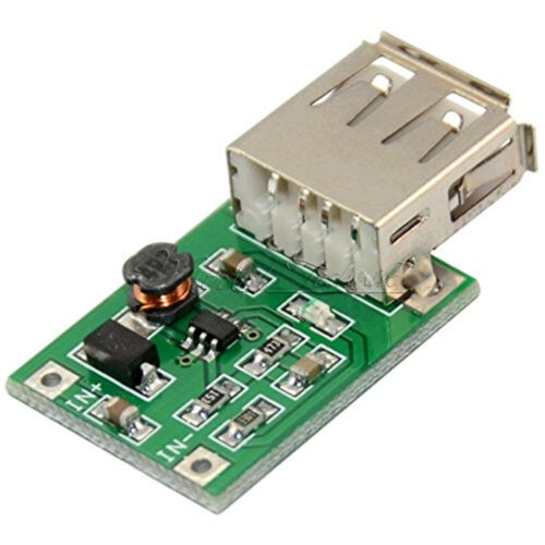 DC-DC 0.9V-5V To 5V 600MA Step Up Booster USB Mobile Power Supply Module