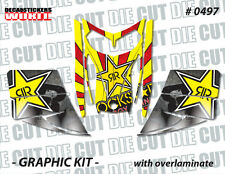 SKI-DOO REV MXZ SNOWMOBILE SLED WRAP GRAPHICS STICKER DECAL KIT 03-07 0497