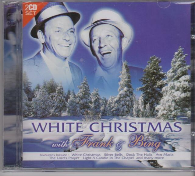 WHITE CHRISTMAS with FRANK SINATRA & BING CROSBY - 2 CD's - NEW