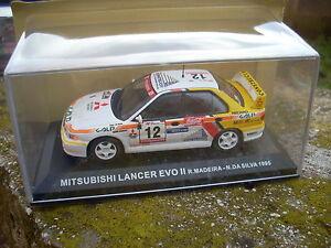 MITSUBISHI-LANCER-EVO-II-MADEIRA-SILVA-1995-SCALA-1-43