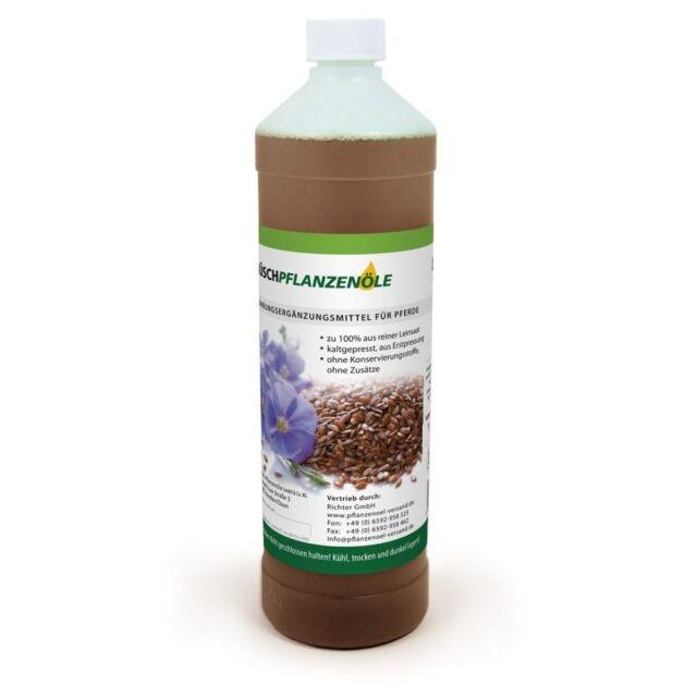 1 L PRO FAIR Leinöl kaltgepresst naturbelassen