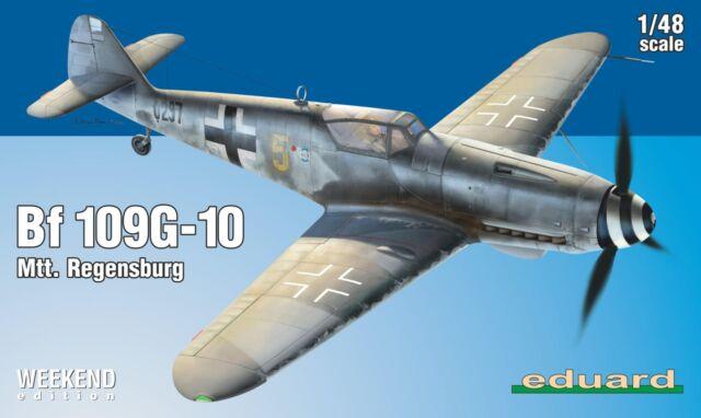 (EDK84168) - Eduard Kit 1:48 Weekend - Bf 109G-10 Mtt. Regensburg