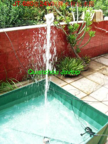 Detective Comics 6V-24V Submersible Brushless Pompe à eau solaire fontaine refroidissement 7 M 1200L//H
