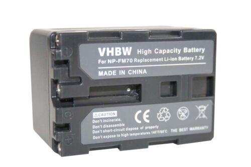 Original VHBW ® batería para para Sony handycam dcr-trv270e np-fm70