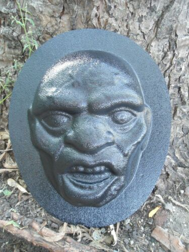 Zombie Halloween face mold plaster //cement