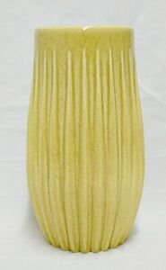 RED-WING-POTTERY-SPECKLED-YELLOW-VASE-M1528