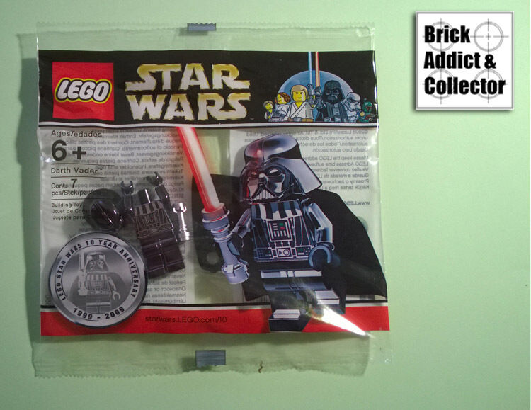 LEGO ® Polybag Star Wars™ Chrome Darth Vader 4547551 SW218 Neuf et scéllé