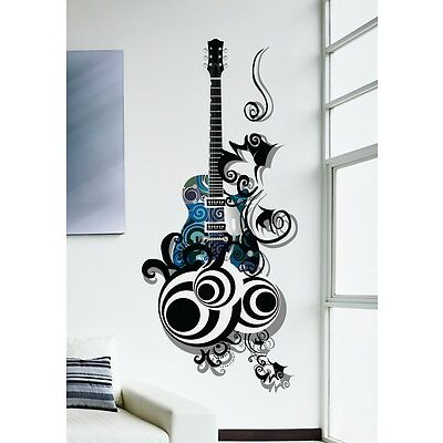 Wall Stickers Music Design Guitar Is All About Passion 57000277