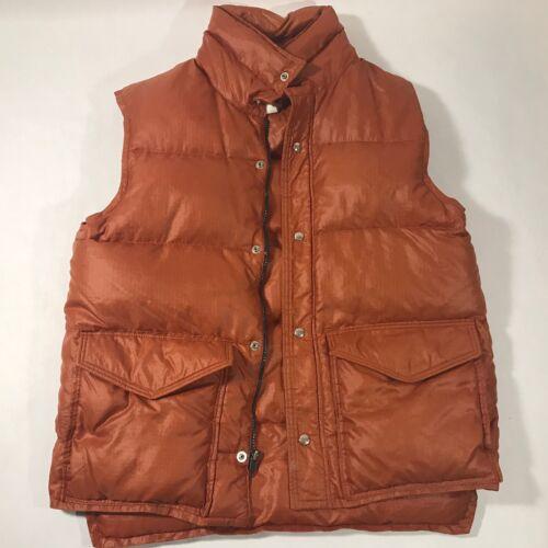 Mens Vintage Frostline Medium Down Puffer Vest Bur