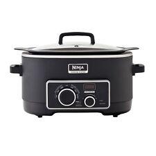 Ninja 3-in-1 6-qt. Cooking System Crock Pot Slow Cooker NEW!!