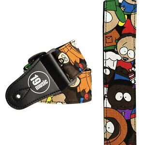 Amical South Park Sangle De Guitare Cartoon Comics Tv Réglable Forte Multicolore Enfants-afficher Le Titre D'origine Produire Un Effet Vers Une Vision Claire