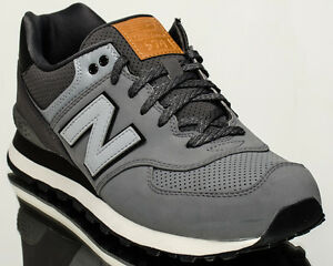 New Balance 574 NB NB574 men lifestyle casual sneakers grey ML574 ... dc5eafdea75f