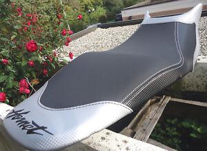 CUBIERTA-ASIENTO-HONDA-DE-SEAT-COVER-MOTORRAD-Personalizado-HORNET-600-Carbono