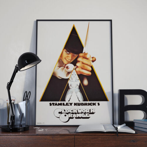 Clockwork Orange Movie Film Poster Print Picture A3 A4