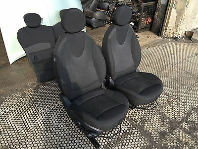 BMW Mini Cooper R55 R56 R57 Front Right O//S Basic Seat Cover Cloth Fabric Black
