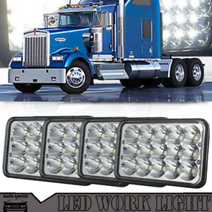 Details about LED Headlights For Kenworth T800 T400 T600 W900 Ford LTD  Crown Victoria 88-91