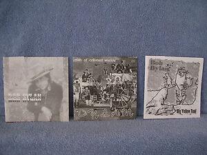 3-Records-1-Price-Bob-Dylan-Flexi-Disc-Man-Of-Constant-Sorrow-Big-Yellow-Taxi-O